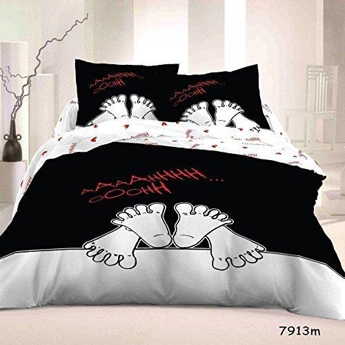 copripiumino matrimoniale per coppie simpatico e originale. Black Bedroom Furniture Sets. Home Design Ideas