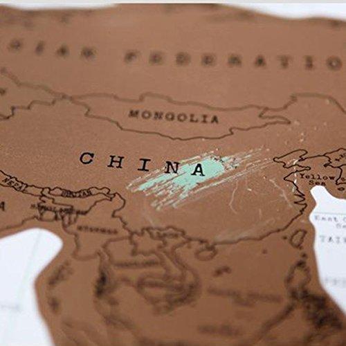 Mappa Del Mondo Vintage ...