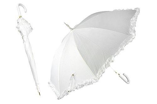 9df8794265b5 Ombrello automatico da SPOSA bianco per feste di matrimonio ...