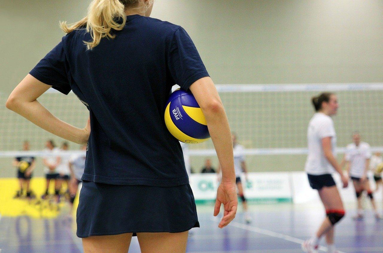 Pallavolo Pallavolista Divertente Volley Regalo Donna Maglietta